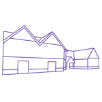 Outline drawing of one of our care homes.
