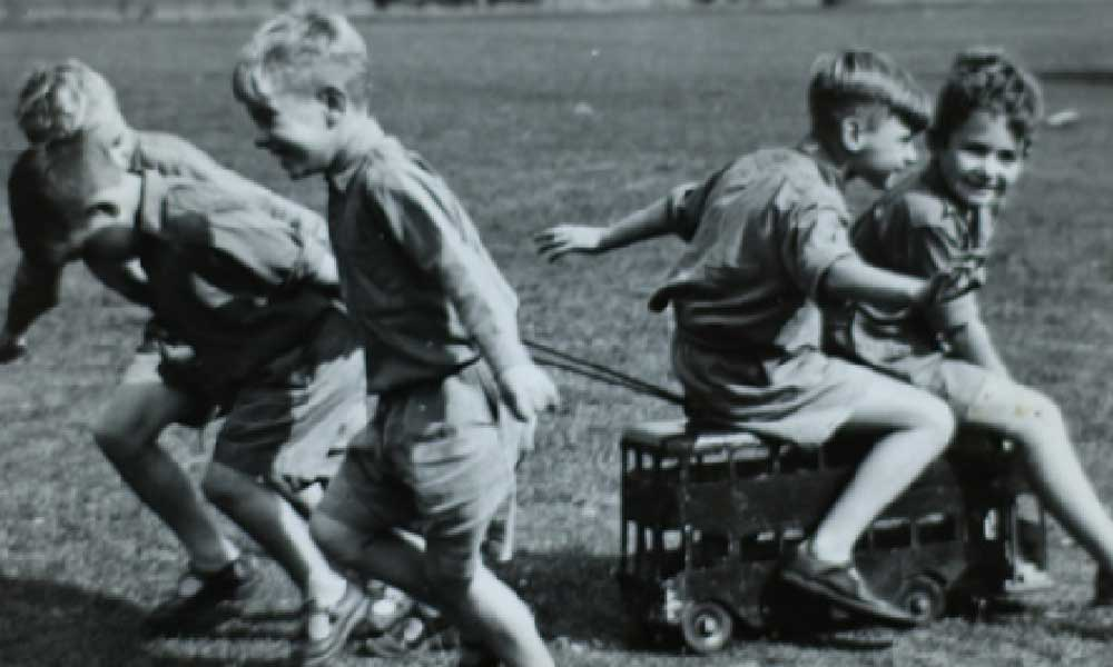 Children were transferred to Lingfield, to what is now Young Epilepsy in 1957.